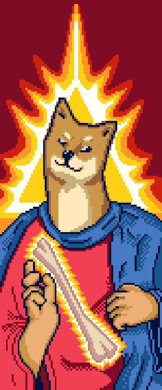 Pixelartdogejesus