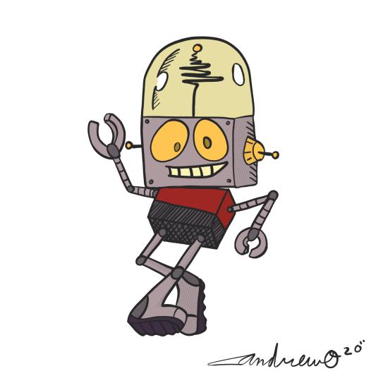 RobotJonesLinework